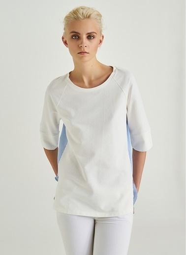 Arkası Dokuma Sweatshirt-People By Fabrika